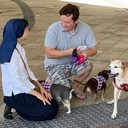 Pet Blessing at Our Lady of Lourdes Regional Medical Center photo album thumbnail 15