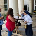Pet Blessing at Our Lady of Lourdes Regional Medical Center photo album thumbnail 7